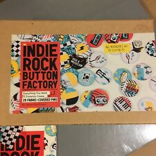 More details for badge making set 'indie rock button factory ❤ yellow bird project ❤inc 21 badges