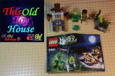 LEGO MONSTER FIGHTERS 9461 THE SWAMP CREATURE complete INSTR FIGS pre-oned NO BX