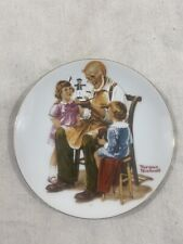 """New ListingVintage - Norman Rockwell """"The Toymaker"""" Decorative Collectible Plate - 1982"""