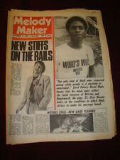 MELODY MAKER 1978 SEPT 9 BUNCH OF STIFFS MOTORS HANDSWORTH BRIXTON DOLLY PARTON