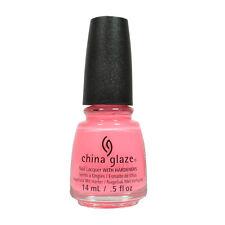 China Glaze Nail Polish Lacquer Shocking Pink 70293 0.5floz 14ml