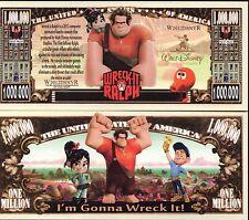 Wreck-It Ralph  - Disney Movie Character Million Dollar Novelty Money