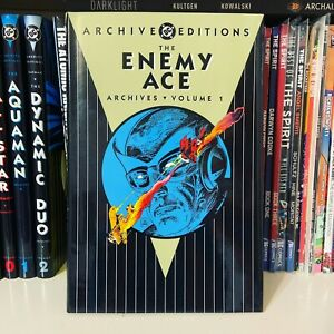 DC THE ENEMY ACE ARCHIVES VOL. 1