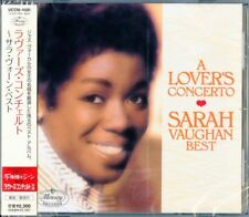a Lover's Concerto Best.. Sarah Vaughan Audio CD
