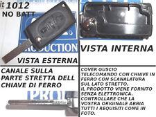 Guscio cover scocca chiave telecomando FIAT ULYSSE LANCIA PHEDRA 3 tasti no logo