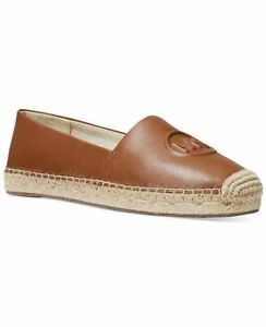 BNEW MICHAEL Michael Kors Dylyn Slip-On Espadrille Flats, Luggage Size 6