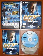 James Bond 007: NightFire [PC CD-ROM] EA Games, Versión Española, ¡¡COMPLETO!!