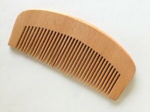 Handmade Wooden Hair Comb Natural Tooth Massage Hair Care Antistatic Beauty Comb