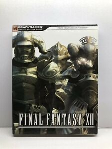 Final Fantasy XII Ashe Bradygames Limited Edition Official Strategy Game Guide