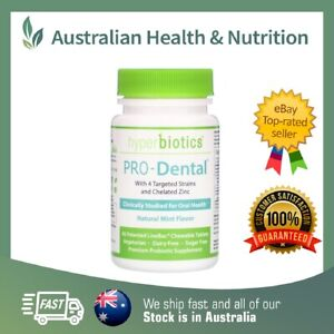 HYPERBIOTICS PRO-DENTAL 45T // PROBIOTICS FOR ORAL HEALTH + FREE SAME DAY POST