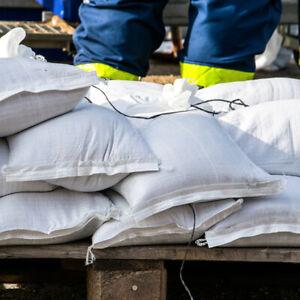 Sandsäcke Sandsack Hochwassersäcke Hochwasserschutzsäcke  PP 40 x 60cm für 15kg