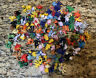 Pokemon Figures Tomy - small loose lot of125 different figurines