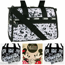 LeSportsac Disney Mickey Loves Minnie Mouse Small Weekender/Everyday Bag NWT