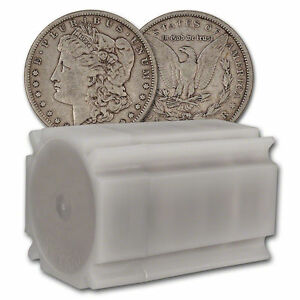 BIN BONUS!! Lot of 2 Silver Morgan Dollar (1800's) Easy To Read Date Circulated