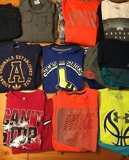 Boys Athletic Lot Nike Adidas Ua Shirts Shorts M-L