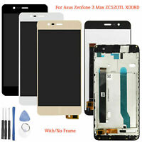 For ASUS Zenfone 3 Max ZC520TL X008D LCD Display Touch Screen Digitizer + Frame
