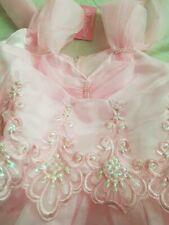 Childrens Girl Princess Formal Gown Party Tutu Dress INC DIAMANTE HEAD BAND