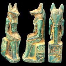 BEAUTIFUL ANCIENT EGYPTIAN ANUBIS STATUE 300 BC (17)