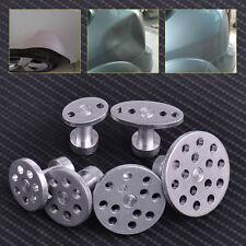 6pcs Aluminum Car Glue PDR Puller Paintless Dent Tabs Hail Removal Repair Tools