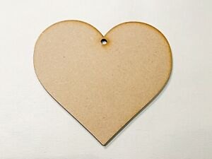 Large Wooden Heart Shape 10cm,20cm,30cm,40 Ready To Decorate