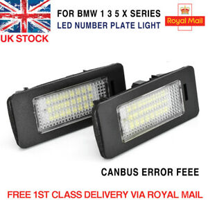 LICENSE NUMBER PLATE MODULES LED CANBUS ERROR FREE LIGHTS BULBS UPGRADE FOR BMW