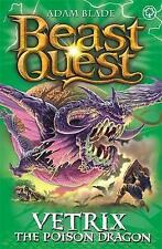 Vetrix the Poison Dragon: Series 19 Book 3 (Beast Quest), Blade, Adam   Paperbac