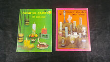 (2) Vintage Candle Making / Crafting Books - Craft Course H 156 & H 187