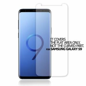 2X TOP QUALITY CLEAR SCREEN PROTECTOR FLAT FILM COVER FOR SAMSUNG GALAXY S9
