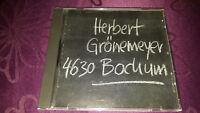 CD Herbert Grönemeyer / 4630 Bochum - Album - EAN: CDP 5641469052
