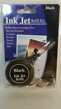 """Ink Jet Refill Kit Black"" For Hewlett Packard Lexmark Brother Epson Canon Dell"