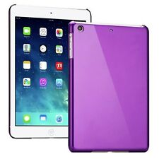 Backcover Lila durchsichtig für Apple iPad Air Cover Zubehör + Schutzfolie Neu