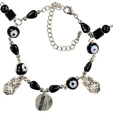 WISE OWL with Evil Eye Ward Talisman Amulet Protection Bracelet!
