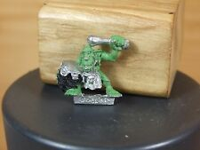 CLASSIC METAL FOREST GOBLIN DRUMMER MUSICIAN PART PAINTED (2693)