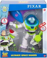 Toy Story Disney and Pixar Ultimate Space Ranger Talking Buzz Figure - New 2020