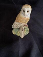 "Border Fine Arts Society ""Night Watch"" Owl Figurine BO175 Pre Owned 1997"