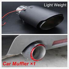 Waterproof Matte Carbon Fiber Muffler Tip UV Resistant Tail Pipe Premium Quality