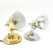 12V Kojenleuchte Deluxe Messing Chrom EK12224 EK 12223 Kabinenleuchte Wandlampe