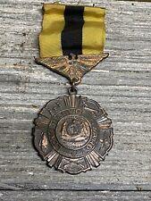 Vintage Missouri National Guard 10 Year Long Service Award Medal Wwll Era