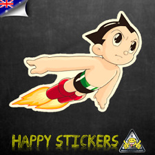 Astro Boy Flying Punch Luggage Car Skateboard Laptop Scooter Vinyl Decal Sticker