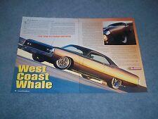 "1970 Chrysler Newport Resto-Rod Article ""West Coast Whale"""