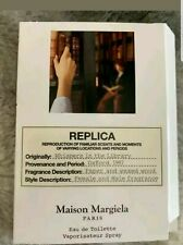 NEW Maison Margiela Replica Whispers in the Library Eau de Toilette Sample .04oz