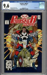 Punisher 2099 #1 CGC 9.6 NM+ WHITE PAGES