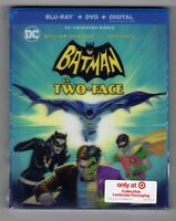 Batman Vs Two-Face Target Collectible Lenticular Packaging (Blu-ray+DVD+Digital)