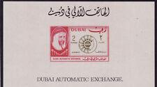 Dubai mnh stamp s/s mi#bl34 phones 1966