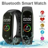NEW Blood Pressure Monitor Smart Watch Band Heart Rate Tracker Fitness Wristband