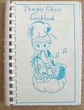 TEMPLE CHOIR COOKBOOK 2000 signed First Presbyterian Church Yakima WA illust VG