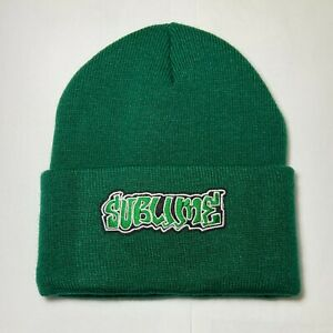 SUBLIME Trendy Rock Band Warm Beanie - Green - US Seller