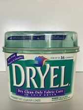 Dryel Starter Kit Dry Clean Only Fabric Care for Your Dryer Original Fresh Scent
