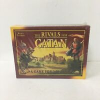 Klaus Teuber The Rivals For Catan 2 Player Board Card Game Mayfair New Box Wear