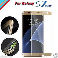 for Samsung Galaxy S7 Edge Full Cover 3d Curved Clear HD Screen Protector Film